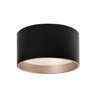 Aurora 60-Watt Equivalence Black Integrated LED Ceiling Flush Mount