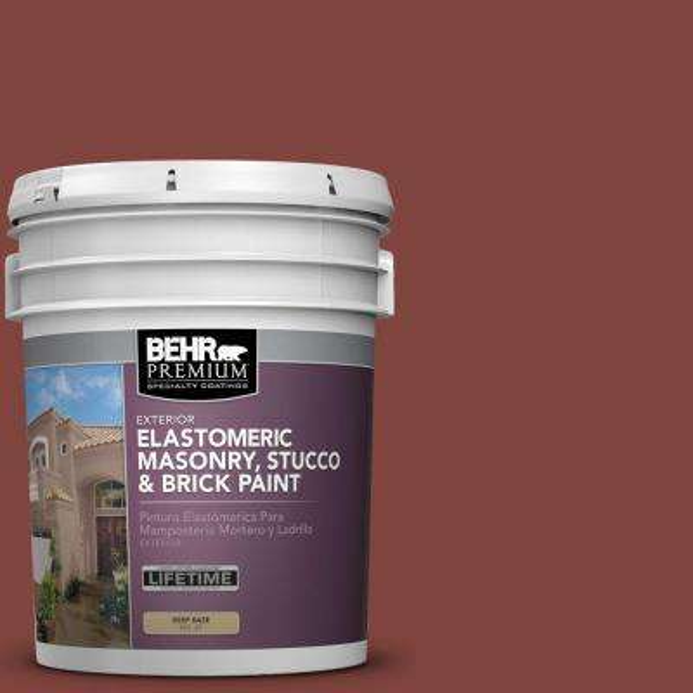 5 gal. #MS-06 Matador Elastomeric Masonry, Stucco and Brick Exterior Paint