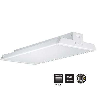 High bay commercial lighting lighting the home depot linear white integrated led high bay warehouse light with 18000 lumens 5000k and aloadofball Gallery