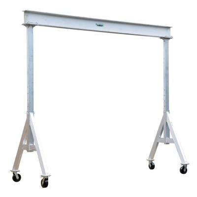 6,000 lb. 8 ft. x 10 ft. Adjustable Aluminum Gantry Crane