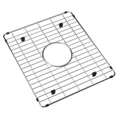 Fireclay 16.75 in. x 14.5625 in. Bottom Grid for Kitchen Sink in Stainless Steel