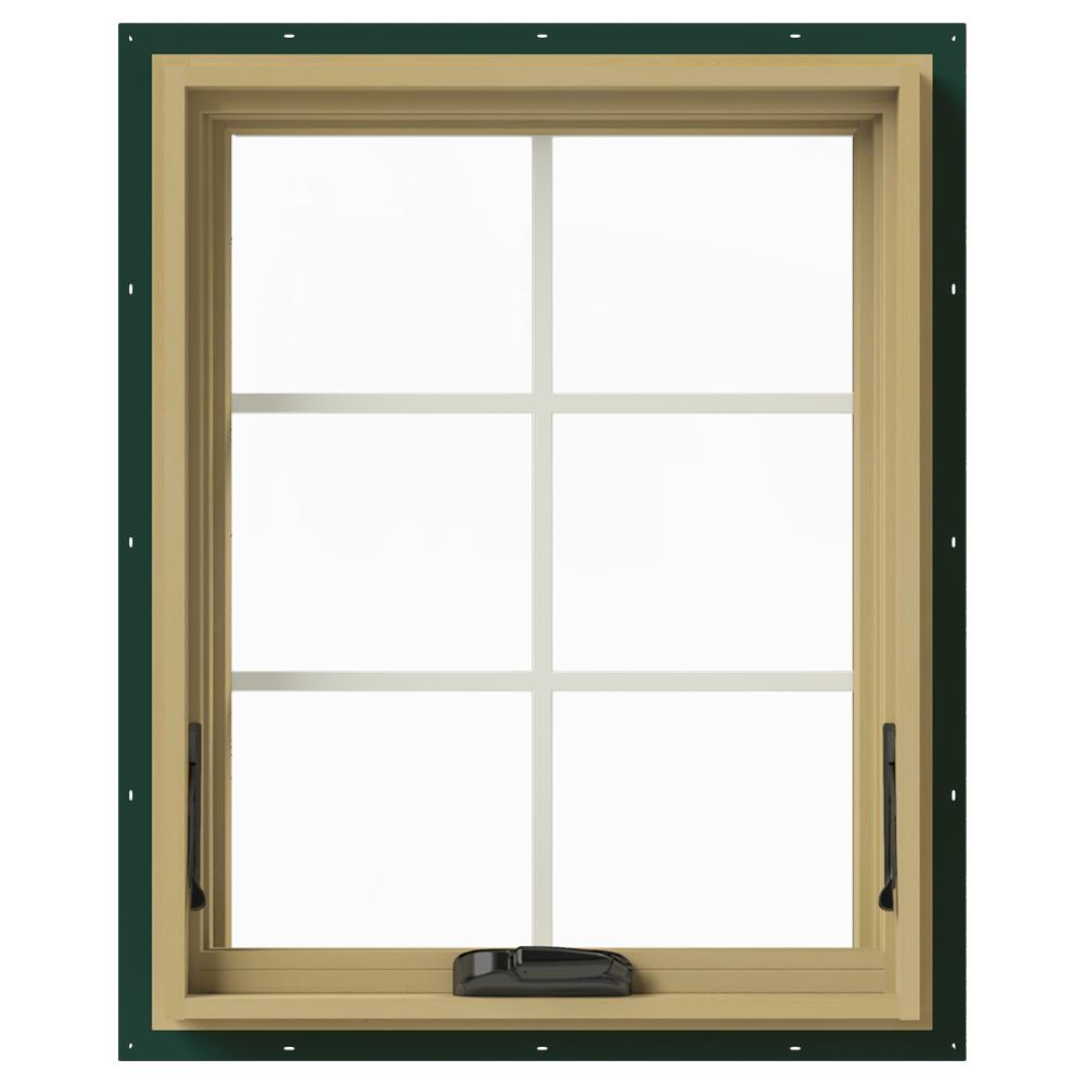 Jeld Wen 24 In X 30 In W 2500 Awning Aluminum Clad Wood