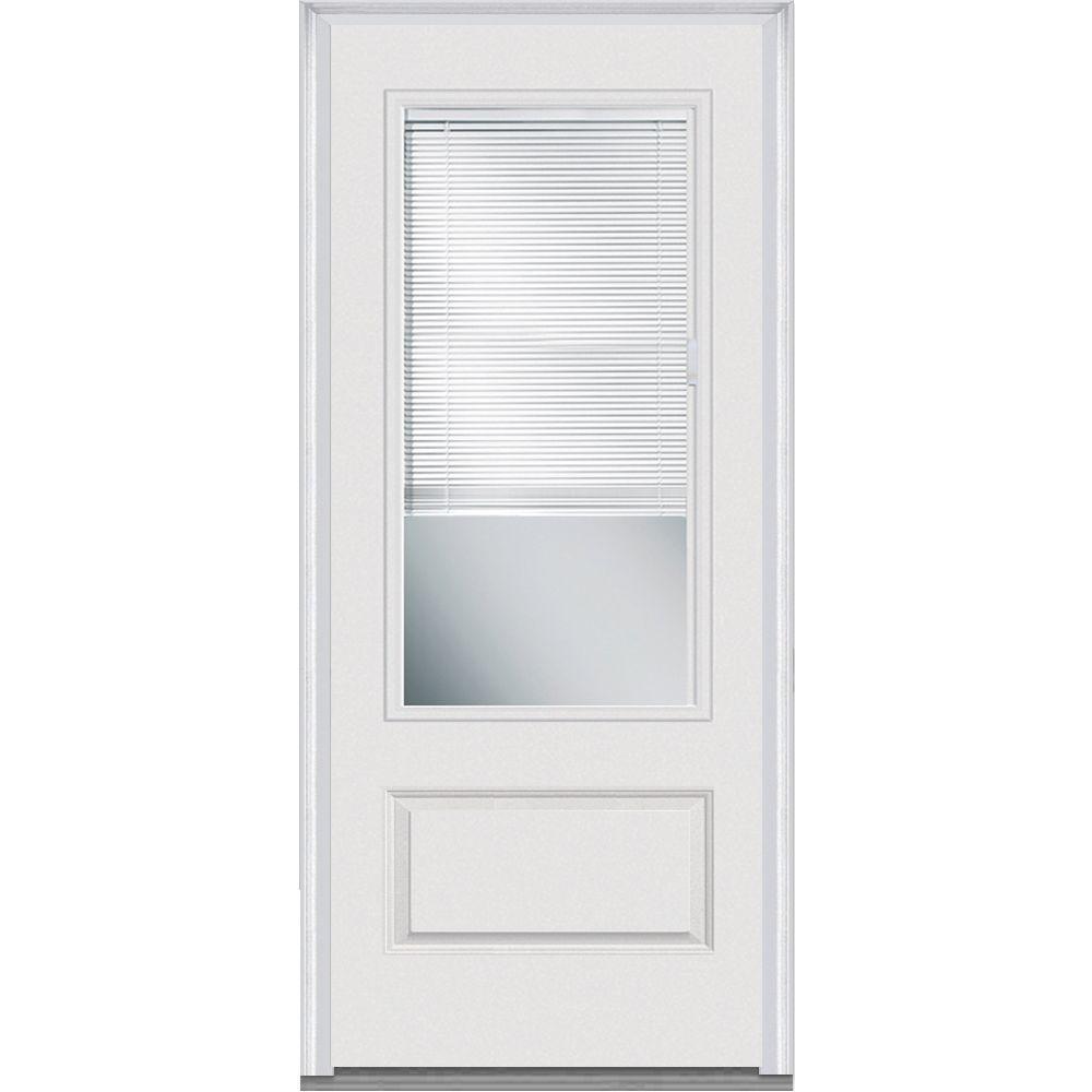 Incroyable MMI Door 36 In. X 80 In. Internal Blinds Left Hand Inswing 3