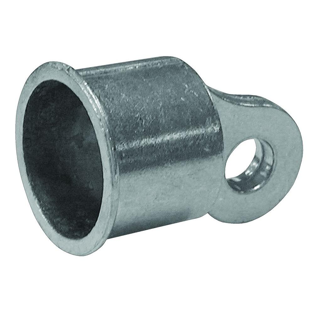Yardgard in aluminum rail end c the home depot