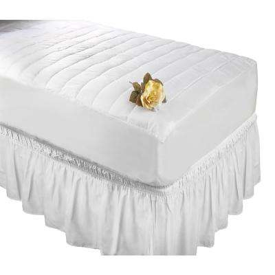 White Queen/King Bed Ruffle