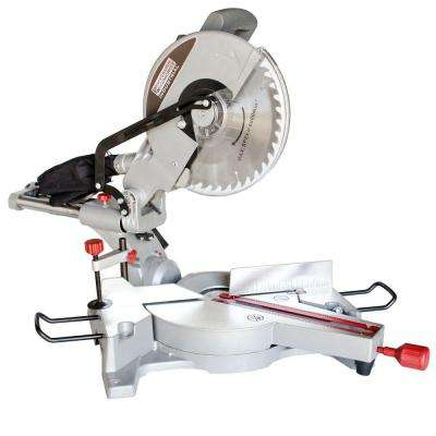 15-Amp 12 in. Sliding Compound Miter Saw with Laser Guide