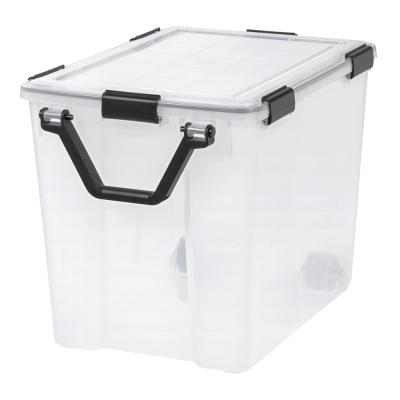 103 Qt. Weather Tight Storage Box in Clear