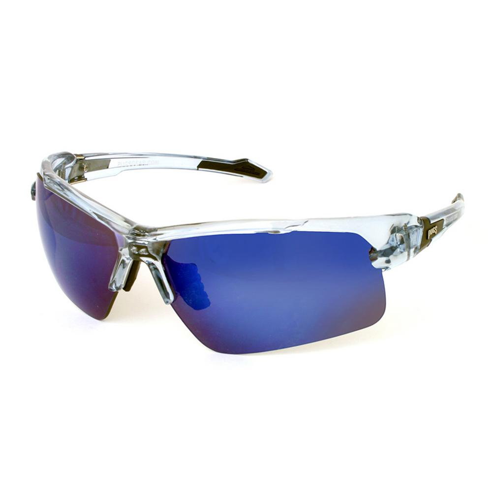 a7b74753cf Unisex Sports Style TR90 Half Frame with Decentered Polycarbonate Lens  Sunglass
