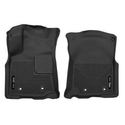 Front Floor Liners Fits 18-18 Tacoma Double Cab