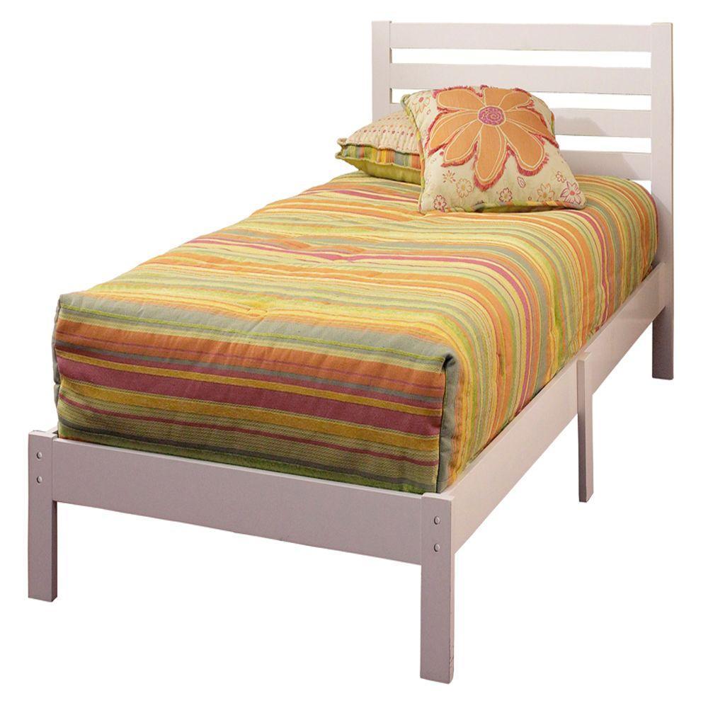 Hillsdale Furniture Aiden White Twin Platform Bed 1723-330