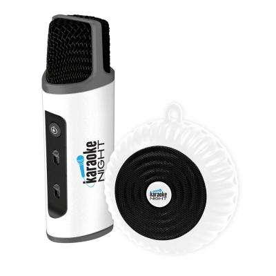Bluetooth Karaoke Smart Microphone with Speaker and Earbuds