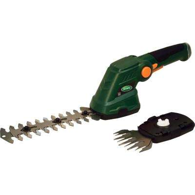 7.2-Volt Lithium-Ion Cordless Grass and Shrub Shear - 2 Ah Battery and Charger Included