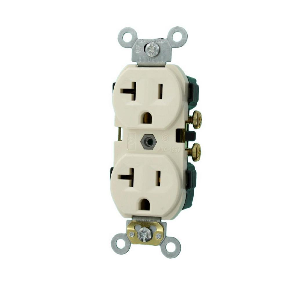leviton 20 amp 125 volt nema 5 20r 2 pole 3 watt narrow. Black Bedroom Furniture Sets. Home Design Ideas