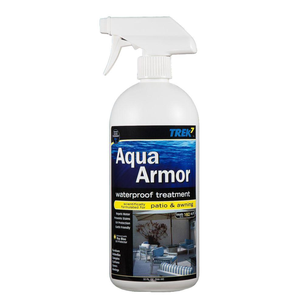 Trek7 Aqua Armor 32 Oz Fabric Waterproofing Spray For Patio And