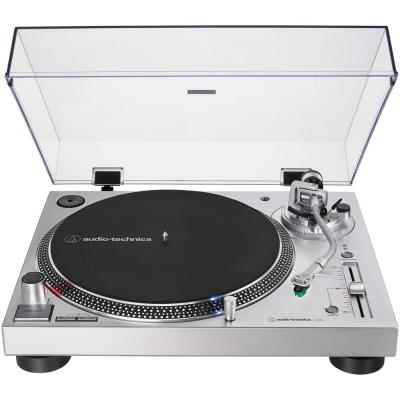Analog and USB Direct Drive Turntable in Silver