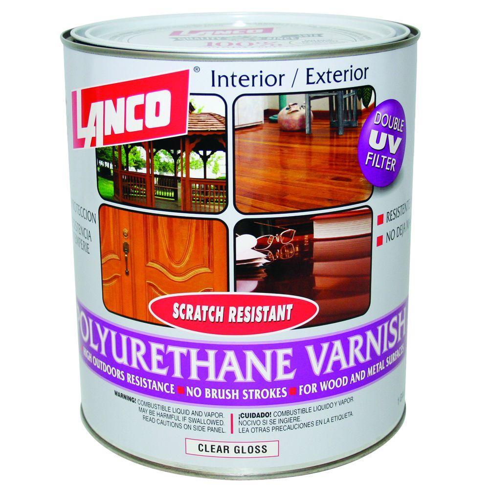 Deft 1 Qt Gloss Interior Clear Wood Finish Brushing