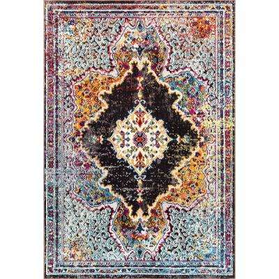 Patio Starlight Multi 5 ft. 2 in. x 7 ft. 2 in. Indoor/Outdoor Area Rug