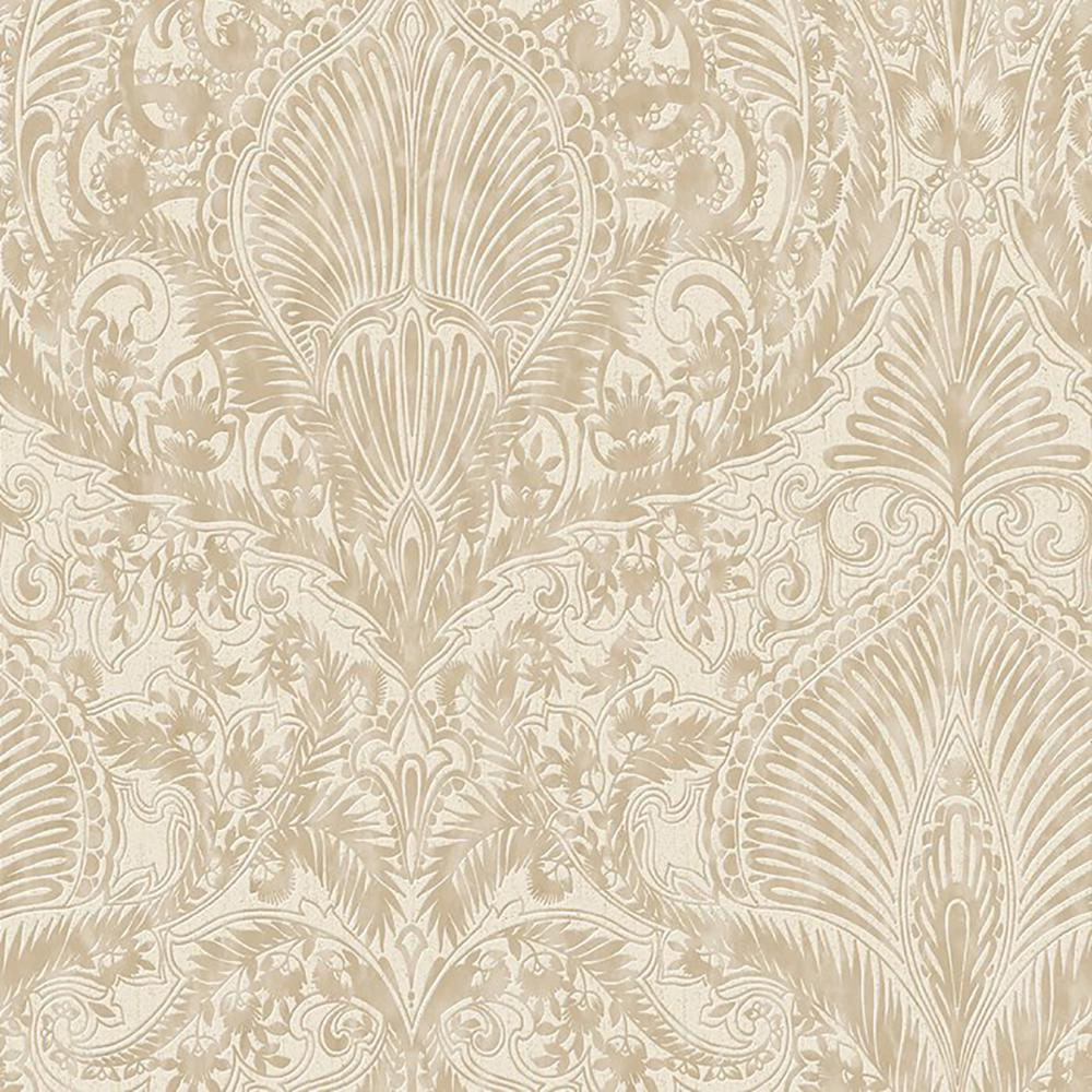 Graham Brown Cream And Gold Burlesque Removable Wallpaper 32 941