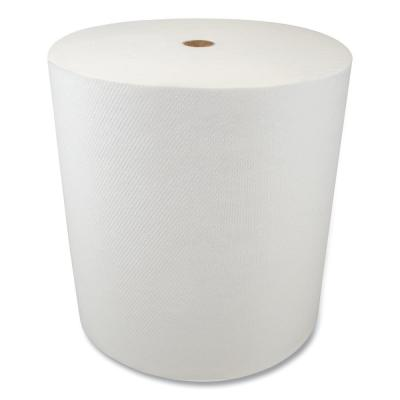 Valay Proprietary TAD Hardwound Paper Towels, 1-Ply, 7.5 in. x 550 ft., White, 6-Rolls/Carton