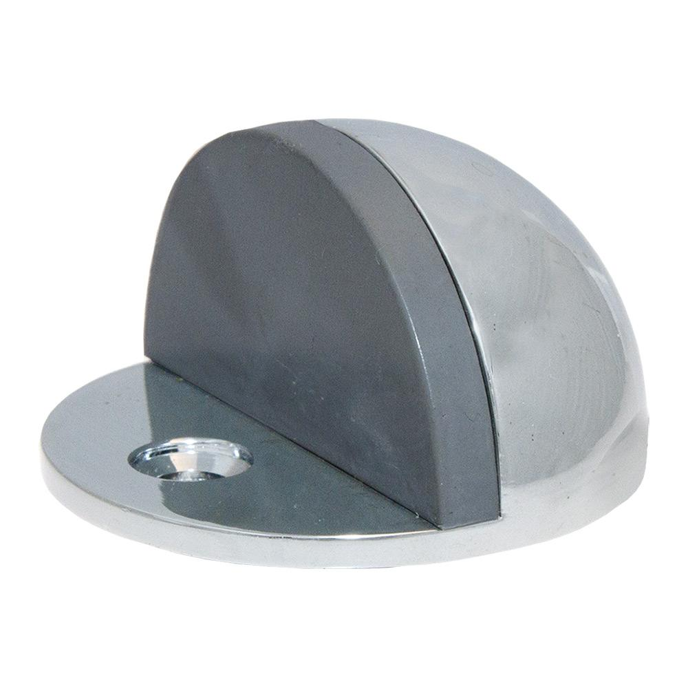 Polished Chrome Half Dome Low Rise Door Stop