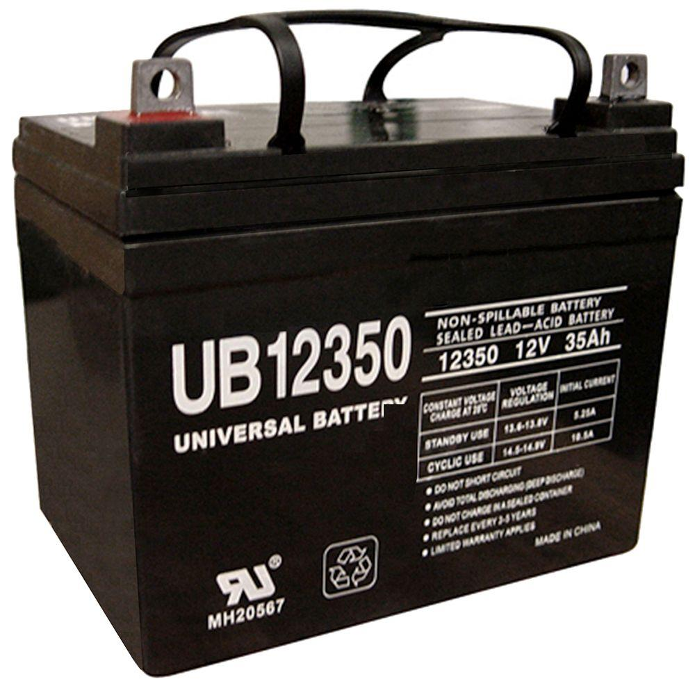 UPG 12-Volt 35 Ah L1 Terminal Sealed Lead Acid (SLA) AGM Rechargeable Battery