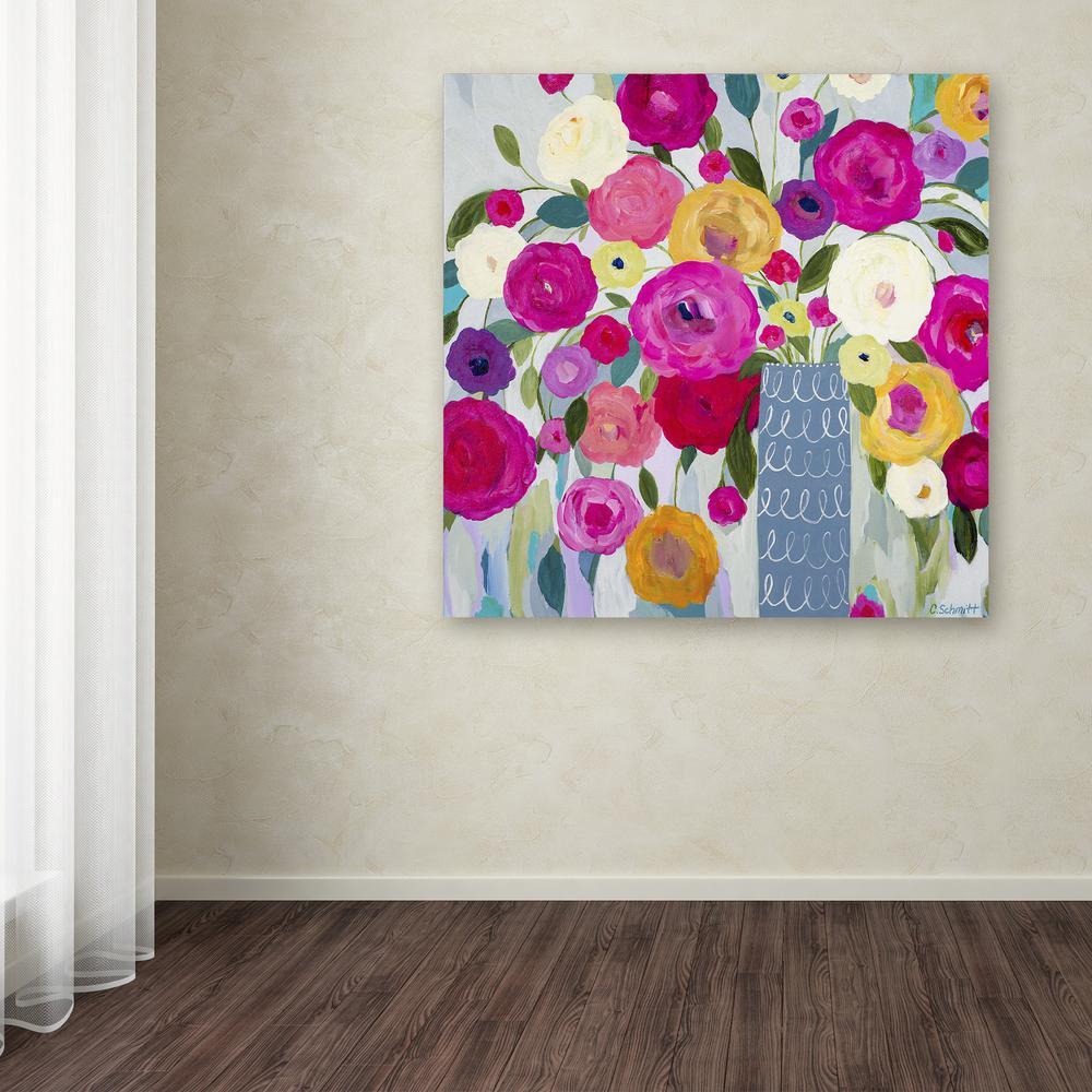 Where love resides by carrie schmitt printed canvas wall art