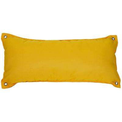 Canvas Sunflower Yellow Large Hammock Pillow