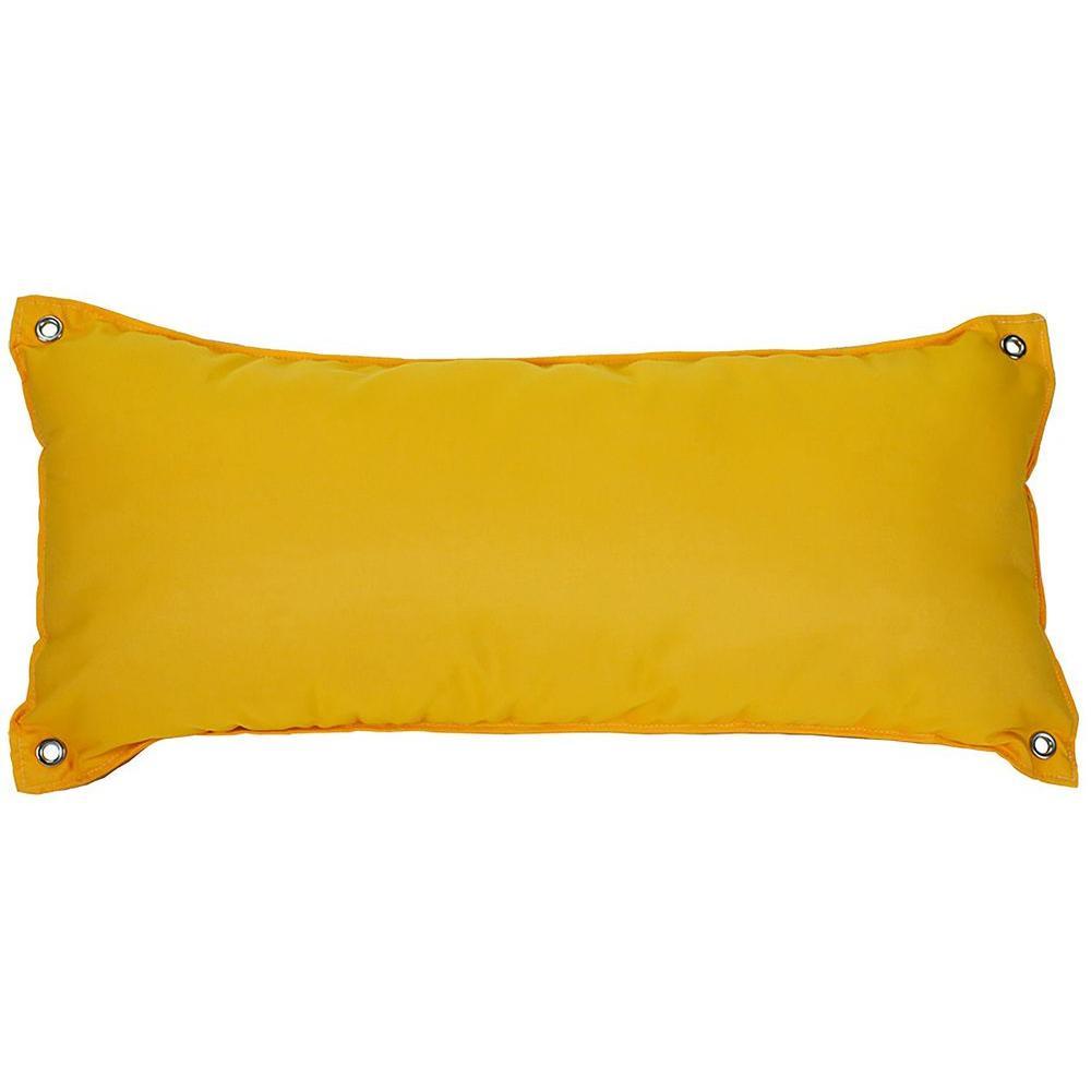 Canvas Sunflower Yellow Large Hammock Pillow