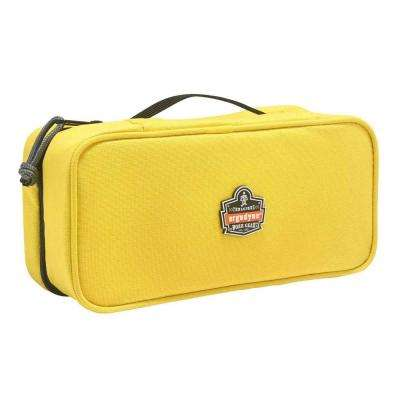 Arsenal 2-Compartment Midsize Small Parts Organizer Yellow