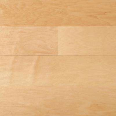 Proshield Natural Maple 3/8 in. Thick x 5 in. Wide x Varying Length Engineered Hardwood Flooring (22 sq. ft.)