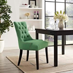 Internet 303656856 Modway Regent Kelly Green Fabric Dining Chair