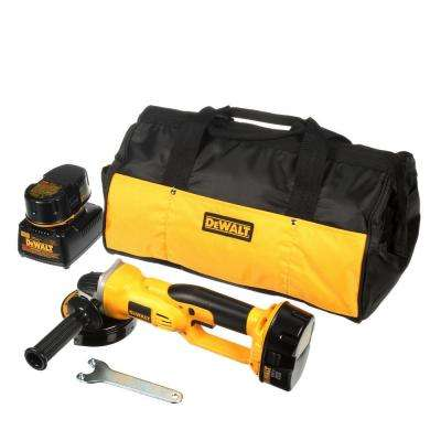 18-Volt XRP NiCd Cordless 4-1/2 in. Cut-Off Tool with (2) Batteries 2.4Ah, 1-Hour Charger and Contractor Bag