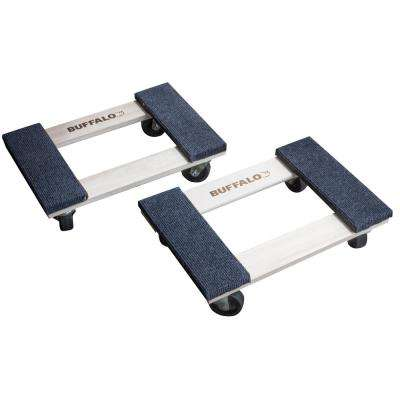 1,000 lbs. Capacity 18 in. x 12 in. Furniture Dolly (2-Pack)