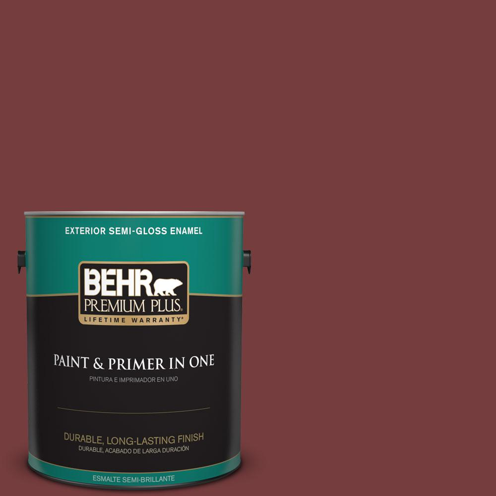 1-gal. #PPF-01 Tile Red Semi-Gloss Enamel Exterior Paint