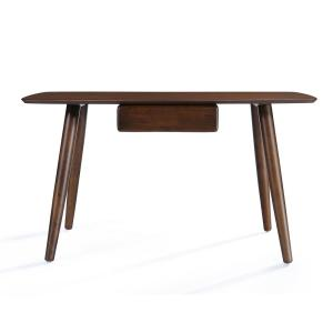 Terrific Noble House Kiersten Walnut Brown Wooden Study Table With Pabps2019 Chair Design Images Pabps2019Com
