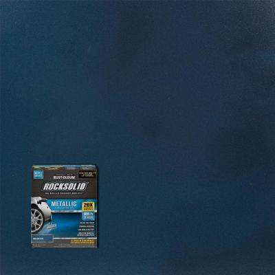 70 oz. Metallic Brilliant Blue Garage Floor Kit (2-Pack)