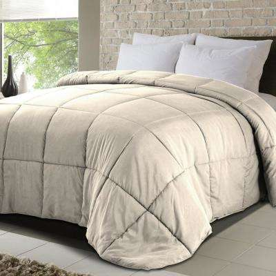 Never Down All Season Microfiber Down Alternative King Comforter