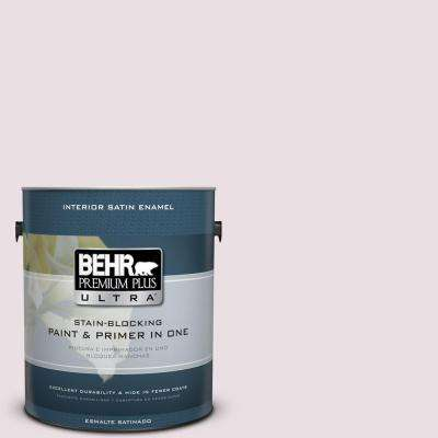 Home Decorators Collection 1 gal. #HDC-CT-08 Pink Posey Satin Enamel Interior Paint and Primer in One