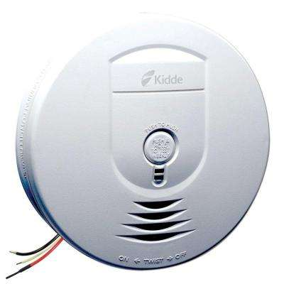 Hardwire 120-Volt Wireless Inter-Connectable Smoke Alarm with Battery Backup