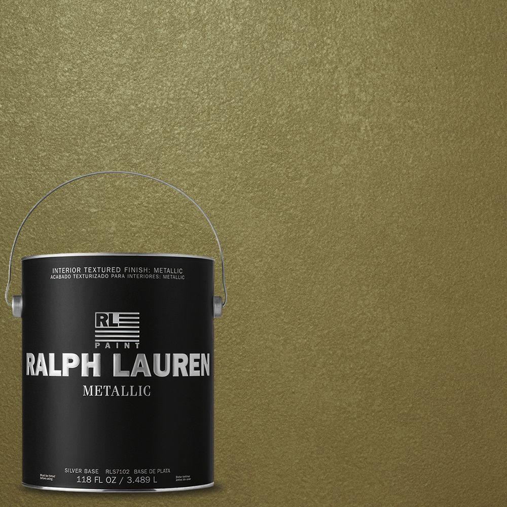Ralph Lauren 1-gal. Antique Bullion Silver Metallic Specialty Finish Interior Paint
