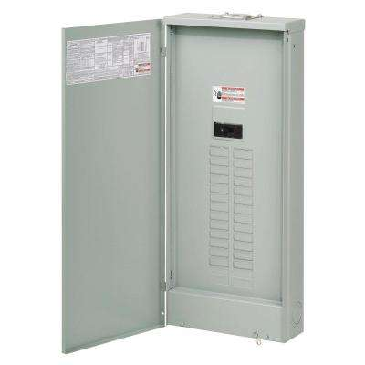 BR 225 Amp 42-Space 42-Circuit Outdoor Main Breaker Loadcenter with Cover