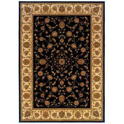 Kurdamir Rockland Black 7 ft. 10 in. x 10 ft. 10 in. Area Rug