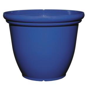 22 inch Cobalt Resin Chatham Planter by