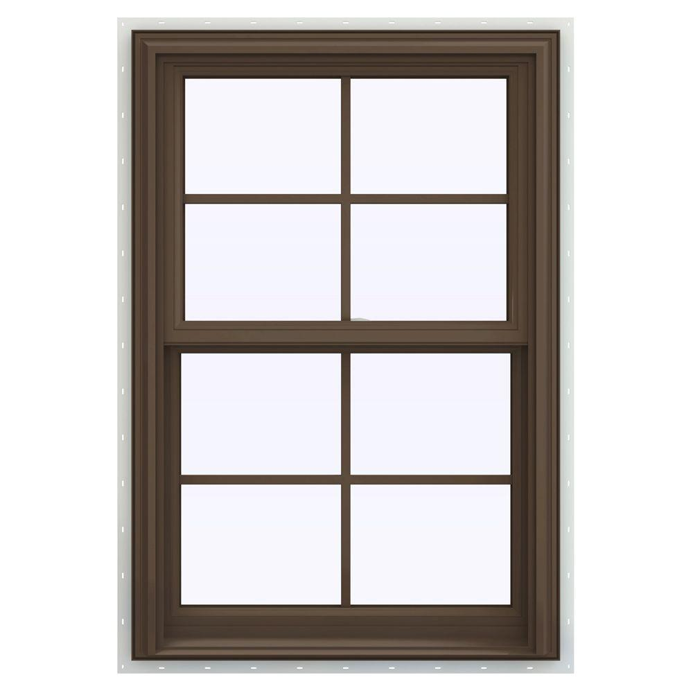 27.5 in. x 40.5 in. V-2500 Series Double Hung Vinyl Window