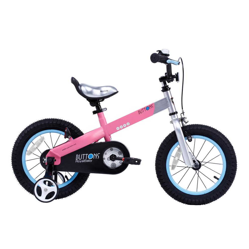 14 in. Wheels Matte Buttons Kid's Bike, Boy's Bikes and Girl's
