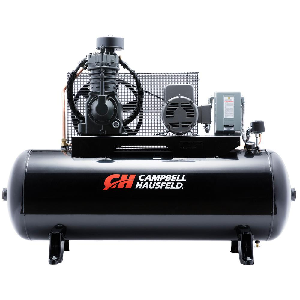 Ingersoll Rand Type 30 Reciprocating 80 Gal. 7.5 HP Electric 230 ...