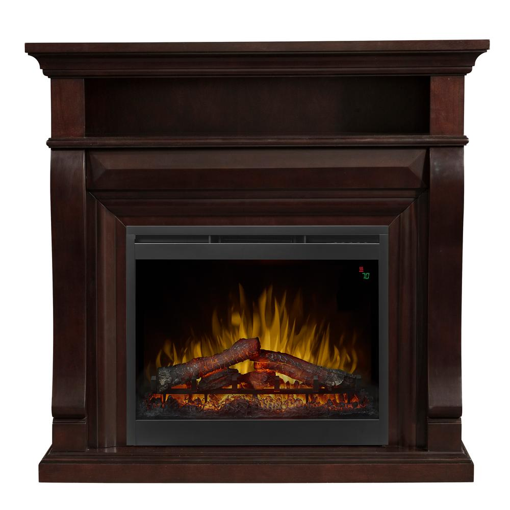 Dimplex Noah 47 1/4 in. Freestanding Electric Fireplace in Espresso