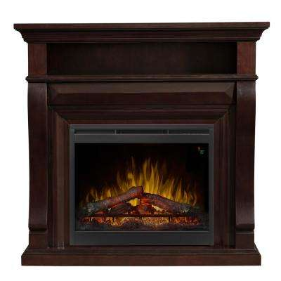 Noah 47 1/4 in. Freestanding Electric Fireplace in Espresso