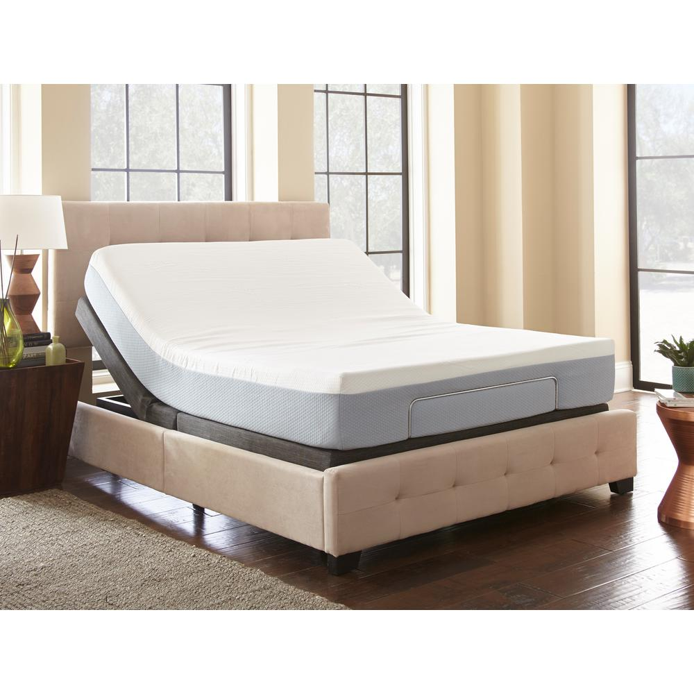 Rest Rite Twin XL Adjustable Foundation Base Bed with Rem...