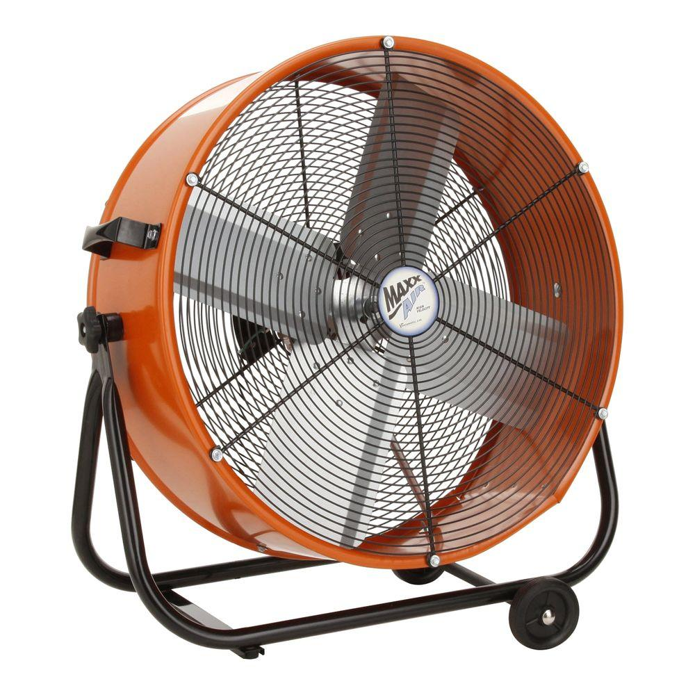 Ventamatic 24 in. Direct Drive Tilt Drum Fan-DISCONTINUED